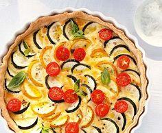 Zucchetti-Tomaten-Quiche