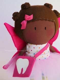 Happy Monday + My Teeny-Tiny Tooth Fairy Doll® | Cook You Some Noodles