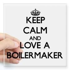 Keep Calm purdue | Keep Calm and Love a Boilermaker Sticker for