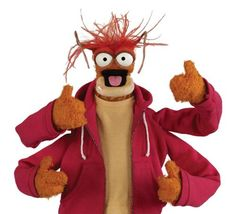 """I am not a shrimp, I am a King Prawn, okay?"" - Pepe the King Prawn in Muppets in Space (1999). I want my little man to be proud of who he is."