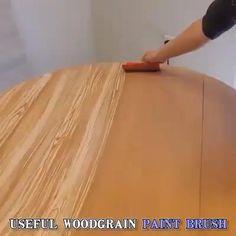 Painting Tools, Diy Painting, Life Hacks Diy, Wood Grain Texture, Graduation Party Decor, Vintage Tools, Wood Patterns, Decorating Tools, Diy Wall Decor