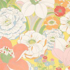 Alexander Henry House Designer - Rita Flora - Fania in Lemongrass