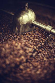 Coffee Roaster In Action Stock Photo 171292254