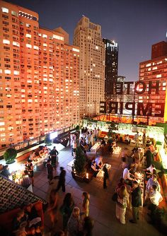 DRINK Happy Hour MON - FRI 5-8pm The Empire Hotel Rooftop: New York | China Grill Management