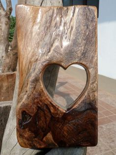Gorgeous Hand Crafted Tropical Hardwood 'Heart' Design Sculpture - A One-Off Piece! by Greg Ledder http://www.amazon.co.uk/dp/B00BDYEFE4/ref=cm_sw_r_pi_dp_xWHjvb0KZBEMN