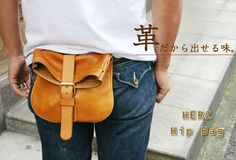 Rakuten: Vegetable tanning leather waist bag made by japanese craftman[nouki]- Shopping Japanese products from Japan