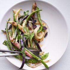 Summer Bean Salad with Roasted Garlic Vinaigrette Recipe - Michael Gulotta | Food & Wine