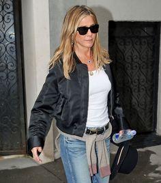 Jennifer Aniston'ın Sportif Sonbahar Stili