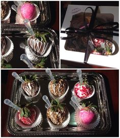 Gourmet Chocolate Covered Strawberries Infused with Ciroc