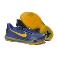 online retailer 6efda 0cf30 2015 new Nike Zoom Kobe X (10) men basketball shoes purple yelow black Kobe