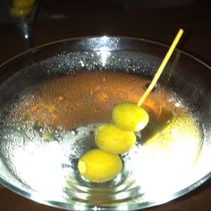 Martini that won the 1951 martini competition - a gin palace classic