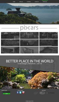 PiXars Webdesign - sekce Portfolio