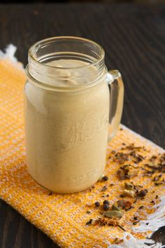 Chai pumpkin keto smoothie low carb