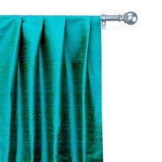 Curtain Panels, Panel Curtains, Green Fabric, Silk Fabric, Window Sizes, Custom Curtains, Extra Fabric, Different Light, Box Pleats
