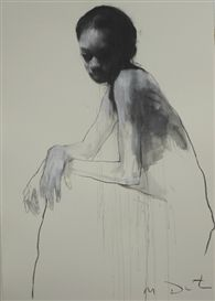 View Ciprana seated By Mark Demsteader; pastel and collage; Access more artwork lots and estimated & realized auction prices on MutualArt. Mark Demsteader, Life Drawing, Drawing Sketches, Art Drawings, Figure Sketching, Figure Drawing, Figure Painting, Painting & Drawing, Portrait Art