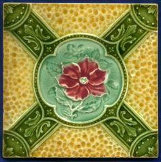 Jugendstil Fliese Relief, Art Nouveau Tile, Tegel, T. R. Boote, wilde Rose wild | Antiquitäten & Kunst, Porzellan & Keramik, Keramik | eBay!