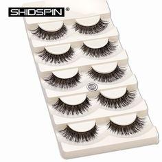 d361f93fac0 5 pair/set False Eyelashes Black Cross Fake Eye Lashes Natural Long Makeup  Eyelash Extension Fake Eyelashes Wispy Eye Lashes-in Makeup Scissors from  Beauty ...