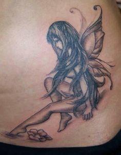 Nude fairy