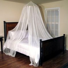 This weekend I plan on decorating my room and I want a canopy similar to this over my bed.