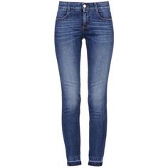 Stella Mccartney Simone Jeans (475 CAD) ❤ liked on Polyvore featuring jeans, pants, bottoms, calças, blue, stretch jeans, blue jeans, blue skinny jeans, stretch skinny jeans and 5 pocket jeans