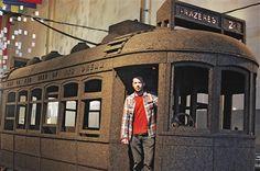 Um elétrico de cortiça para espalhar a cultura portuguese nos EUA / A cork tram to promote Portuguese culture in the USA
