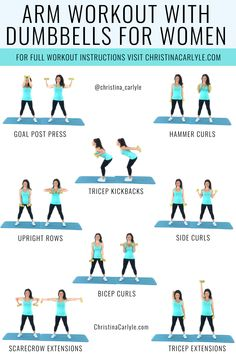Dumbbell Exercises for Arms that Tighten, Tone and Boost Strength