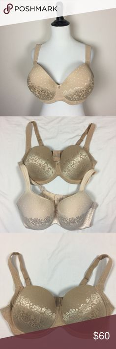 """Soma 38G Full Coverage Bra Underwire. 38DDDD 4D. Lightly padded bra. Not a push up. """"Stunning Support Balconet"""". Wide Comfort straps. Excellent condition. I have another of the same size, cut, and brand. Pictured. Add them both to a bundle to get 15% off immediately. Ask any questions. Make an offer using the """"offer"""" button. 15% discount on bundles. (A) Soma Intimates & Sleepwear Bras"""