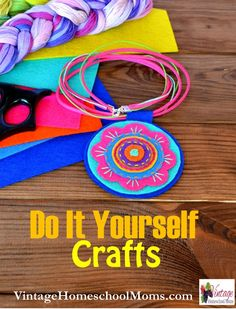 do it yourself crafts for children