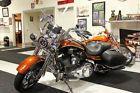 2008 Harley-Davidson ROAD KING CVO 105th ANNIVERSARY 110 CI  105TH ANNIVERSARY CVO ROAD KING CHROME WHEELS BREMBO BRAKES SIDE BAGS COPPER