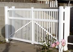 Manhattan Beach, CA Redondo, Home Estimate, Vinyl Gates, Sliding Gate, Outdoor Decor, Large Driveway, Redondo Beach, Wood Gate, Concrete Pad