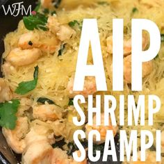 "2 Likes, 1 Comments - AJ Anderson | Wellfitmommy (@wellfitmommy) on Instagram: ""AIP SHRIMP SCAMPI The pre-cake dinner tonight INGREDIENTS: •1 spaghetti squash cooked and…"""