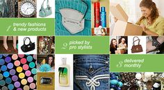 Ali's Bling Box! The latest trends in beauty, fashion, and good deals, delivered directly to your front door! Love it!