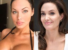 Meet Angelina Jolie's Look-Alike: Veronika Black Says She's Still Looking for Her Brad Pitt Because Men Are Intimidated by Her