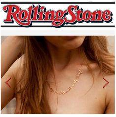 colares música de rock na revista rolling stone by fabi malavazi #fabimalavazi