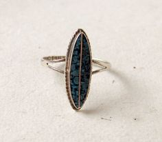 Green Turquoise Ring  Sterling Silver  Taxco by GemstoneCowboy, $24.00