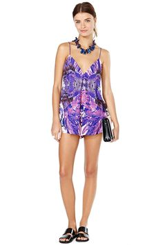 Nasty Gal x Shakuhachi Concrete Jungle Romper | Shop Clothes at Nasty Gal!