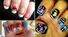 Videojuegos para las uñas :)