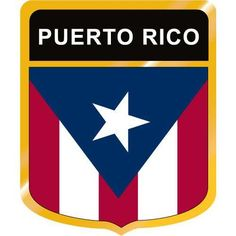 Puerto Rico Flag Drawing | Home / Puerto Rico Flag Crest Clip Art