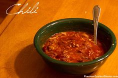 Easy Chili Recipe – 8 Minutes in Your Pressure Cooker
