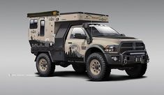 Overlander is leading the way manufacturing off grid, luxury expedition vehicles made to reinvent the idea of Unbound Freedom. Truck Bed Camper, Off Road Camper, Truck Camping, Overland Truck, Expedition Vehicle, Chevrolet Blazer, Dodge Trucks, Big Trucks, Dodge Cummins
