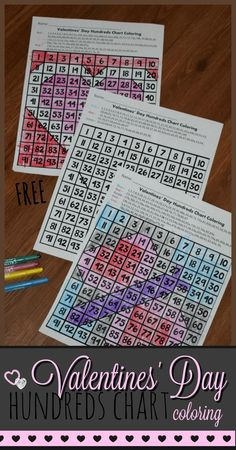 FREE Valentines Day Hundreds Chart Coloring Pages - super cute valentines day math for preschool, kindergarten, first grade, and grade kids! This fun a Valentines Games, Valentines Day Activities, Valentine Day Crafts, Games For Kids Classroom, Fun Activities For Kids, Math Activities, Holiday Activities, Kids Fun, Classroom Ideas