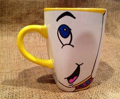 This adorable Chip mug. | 23 Magical Kitchen Gadgets Every Disney Lover Should Own