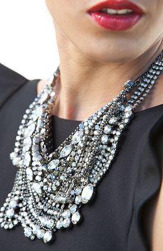 Chic statement necklace
