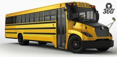 The All-New Lion 360   Type C Conventional School Bus