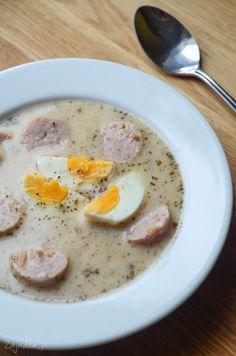 Sunday Recipes, Easter Recipes, Soup Recipes, Vegetarian Recipes, Recipies, Borscht Soup, Sour Soup, Polish Recipes, Polish Food