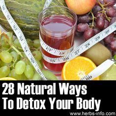 ❤ 28 Natural Ways To Detox Your Body ❤