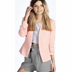 boohoo Ruched Sleeve Blazer - blush azz18655 Give your tailored outerwear a softer twist with this statement sleeve blazer . Use it to dress up a basic tee and skinny jeans look! http://www.comparestoreprices.co.uk/womens-clothes/boohoo-ruched-sleeve-blazer--blush-azz18655.asp