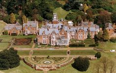 Prince Edward home in Wessex . Celebrating is 50th birthday Bagshot Park, Surrey, the home of the Earl and Countess of Wessex...