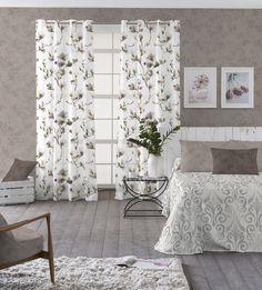 1000 images about decorar con telas ambientes actuales - Visillos para salones ...
