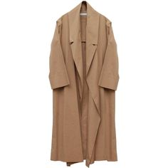 Address Spring Long Coat (2630 MAD) ❤ liked on Polyvore featuring outerwear, coats, jackets, coats & jackets, longline coat, long oversized coat, collar coat, cotton coat and long coat